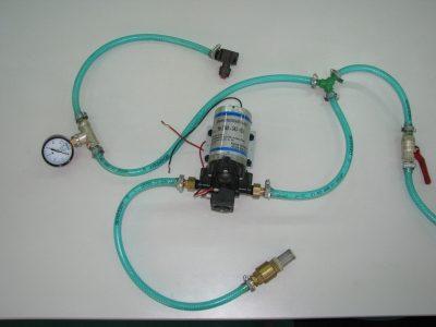 насос-дозатор для внесения консерванта